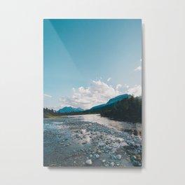 Saint Mary Lake, Montana Metal Print