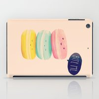 nan lawson iPad Cases featuring Bite Me by Nan Lawson