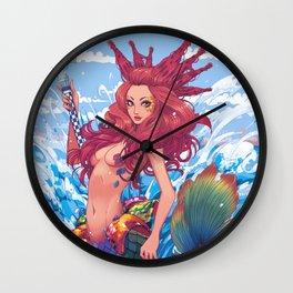 BARCELONA MERMAID Wall Clock