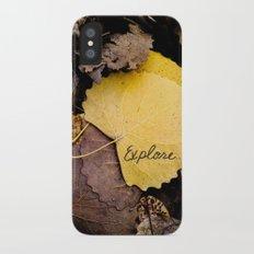 Explore iPhone X Slim Case