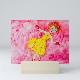 Pink dreamland~Pore Mini Art Print
