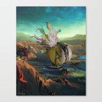 archan nair Canvas Prints featuring Dua:Talum by Archan Nair