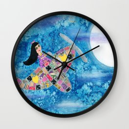 Missy and Piglet Wall Clock