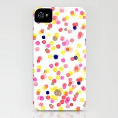 Watercolor Confetti! Slim Case iPhone (4, 4s)