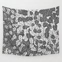 Japanese Leaf Print, Light and Dark Gray / Grey by mmgladn10