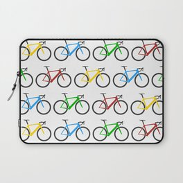 Road Bike Pattern Laptop Sleeve