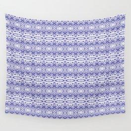 Harmonic purple pattern Wall Tapestry