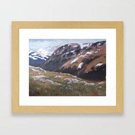 Colorado High Framed Art Print