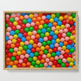 Mini Gumball Candy Photo Pattern Serving Tray