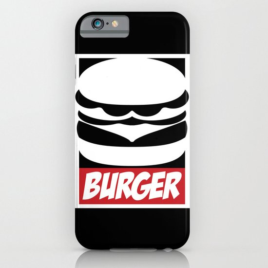 Obey Burger iPhone & iPod Case