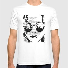 Almost Famous Screenplay Portrait T-shirt