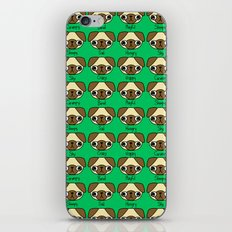 The many facial expressions of a pug iPhone & iPod Skin
