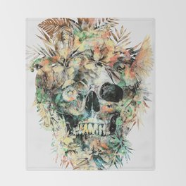Momento Mori XIV Throw Blanket