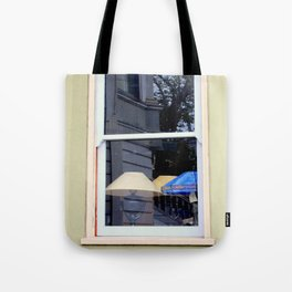 After The Laundry Room Fire Tote Bag