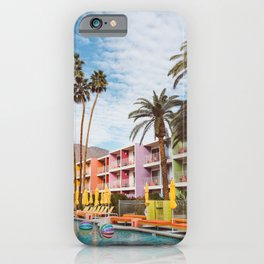 Palm Springs Pool Day VII iPhone Case