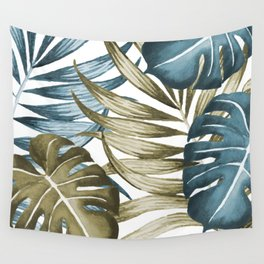 TROPICAL LEAVES 5 Wall Tapestry
