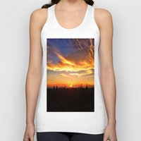 "volleyball Tank Tops featuring Hermosa Beach ""Volleyball"" by Arturo Garcia"