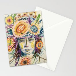 happy surprise  Stationery Cards