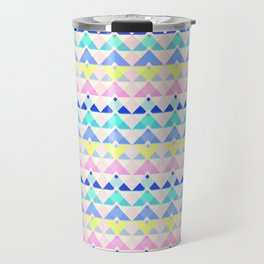 Retro chevron Travel Mug