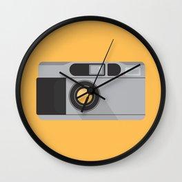 Camera Series: Contax T2 Wall Clock