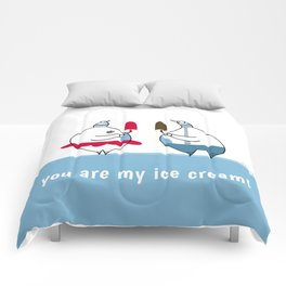 you are my ice-cream! Comforters