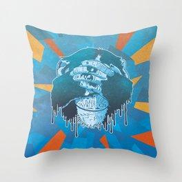 Mizaru Throw Pillow