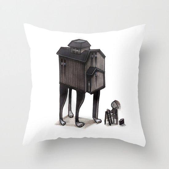 Barn Animal Throw Pillow