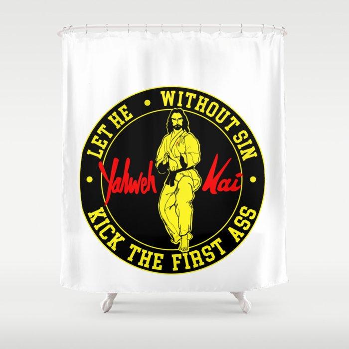 Yahweh Kai Shower Curtain