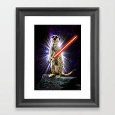 Meerkat Framed Art Print