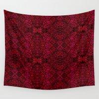 persian Wall Tapestries featuring Persian rugs by Vargamari