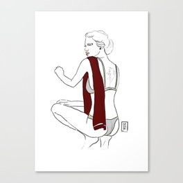 Torino | Serie A pin up Canvas Print