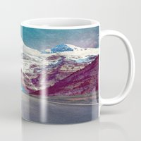 jenna kutcher Mugs featuring The Last Stretch by Jenna Davis Designs
