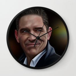 Jim Caviezel as John Reese Wall Clock