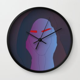 SadEyebrows/ Wall Clock