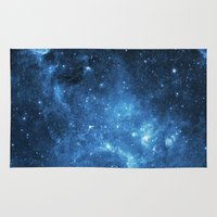 galaxy Area & Throw Rugs featuring Galaxy by Space99