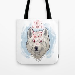 The King in The North Tote Bag