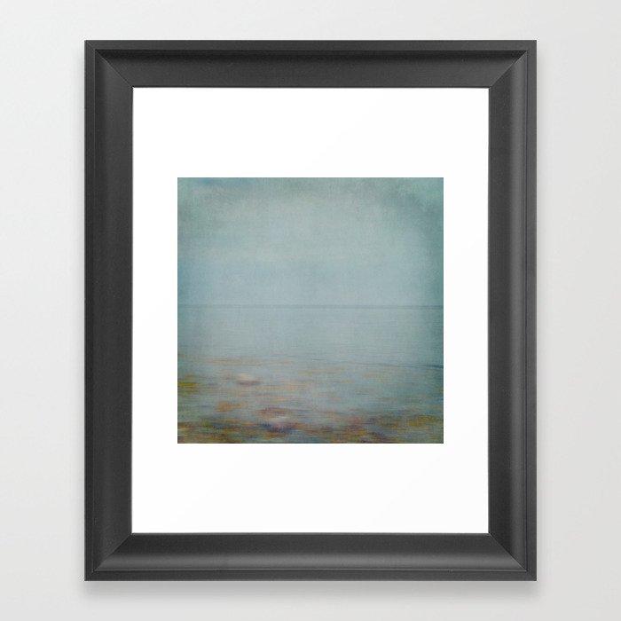 sea square II Framed Art Print