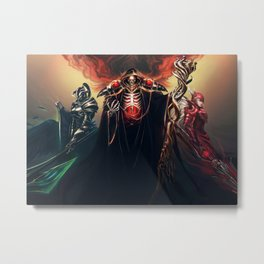 The Sorcerer King - Overlord Metal Print