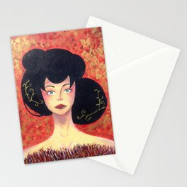 gold&red Stationery Cards