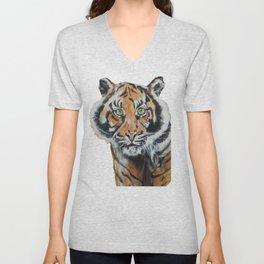 Tiger, Tiger Unisex V-Neck