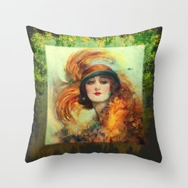 BeautyCurios 01 Throw Pillow