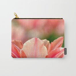 SPRING PINK AND RED TULIP Carry-All Pouch