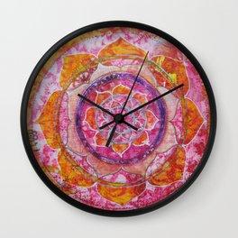 Creative Glow Mandala Wall Clock