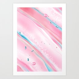 Candy Cream. Sweet Seduction. Art Print