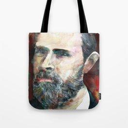 BRAM STOKER - watercolor portrait.2 Tote Bag