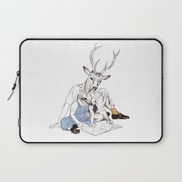 Bestial father and son Laptop Sleeve