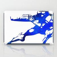 metroid iPad Cases featuring Metroid - Samus by Bradley Bailey