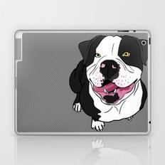 Bubba, the American Bulldog Laptop & iPad Skin