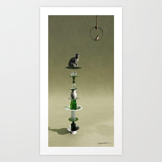 Equilibrium III Art Print