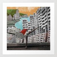 Collage - The Climb Art Print